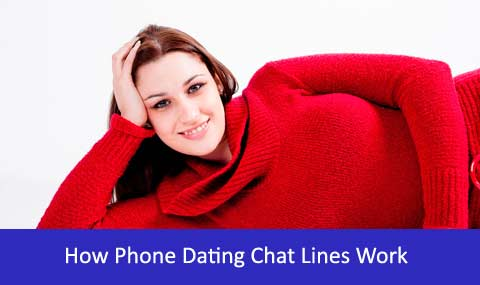 how phone chat lines work